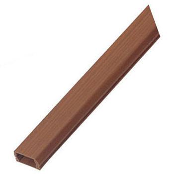 プラモール(ウッドタイプ・テープ付)0号 チーク調 100本価格 未来工業 WML-0T1