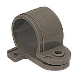 VE片サドル 適合VE管16 ブラック 500個価格 未来工業 KVE-16K