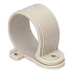 VE片サドル 適合VE管28 グレー 500個価格 未来工業 KVE-28