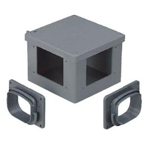 未来工業 分岐ボックス(クロス)トラフレキ200用(1個価格) ※受注生産品 TFBX-200