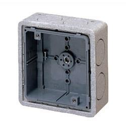 埋込四角アウトレットボックス(断熱カバー付・10mm厚)中形四角深型 50個価格 未来工業 CDO-4BD