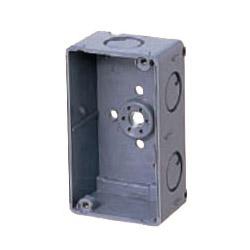 埋込スイッチボックス(塗代無・側面ノック付・1個用) 50個価格 未来工業 CSW-1N-O