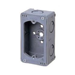 埋込スイッチボックス(平塗代付・側面ノック付・1個用) 50個価格 未来工業 CSW-1NF