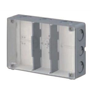 結露防止ボックス(埋込スイッチボックス塗代無・3個用) 20個価格 未来工業 CSW-3N-ODK