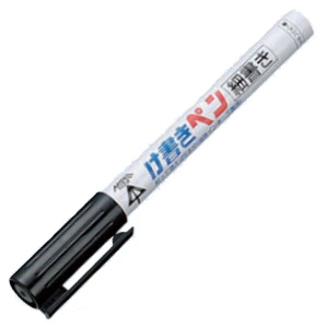 未来工業 削って使えるけ書きペン 細書き(約2mm丸芯)黒 50本価格 KPT-1B