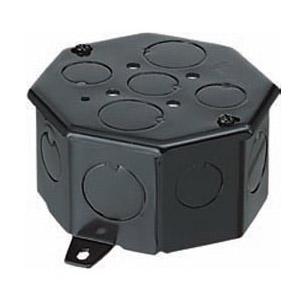 八角コンクリートボックス(鉄製・大深I形)側面ノックアウト6(19)×4 20個価格 未来工業 OF-8CB-54N