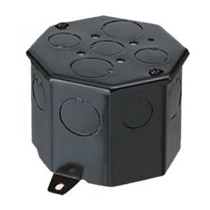 八角コンクリートボックス(鉄製・大深II形)側面ノックアウト6(19)×4 20個価格 未来工業 OF-8CB-75N