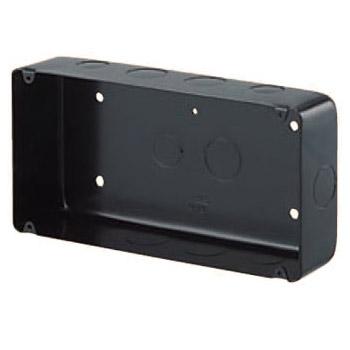 埋込スイッチボックス(鉄製セーリスボックス・塗代無・4個用) 10個価格 未来工業 OF-CSW-4N-O