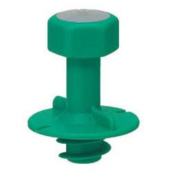 M12ボルト用 ☆最安値に挑戦 防露型 断熱材厚20 25mm以上用 安心の定価販売 ニューカラーインサート 100個価格 MSH-12GS 緑 未来工業