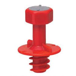 4分ボルト用 防露型 未使用品 断熱材厚30mm以上用 ニューカラーインサート 割引 100個価格 未来工業 MSH-4RL 赤