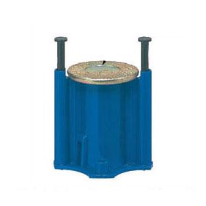 4分ボルト用 カラー・ヘッダーインサート(型枠用・樹脂釘)青 100個価格 未来工業 NK-4JB