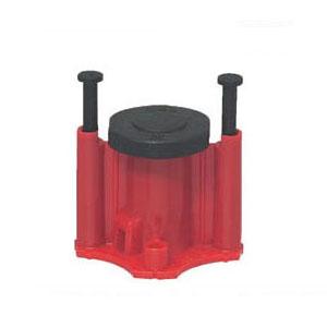 3分ボルト用 オール樹脂製 カラー・ヘッダーインサート 赤 300個価格 未来工業 NKJ-3R