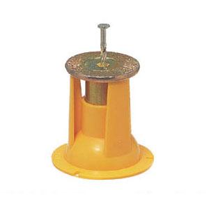 4分ボルト用 カラー・ヘッダーインサート(釘1本止・型枠用)黄 100個価格 未来工業 NKO-4Y