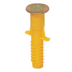 4分ボルト用 カラー・ヘッダーインサート(断熱材・PC板用)黄 100個価格 未来工業 NW-4Y