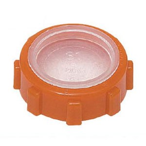 薄鋼電線管用(フタ付)ポリカブッシング(絶縁ブッシング)薄鋼25用 500個価格 未来工業 ZVF-25