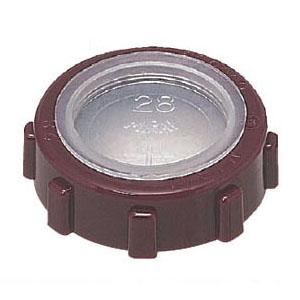 厚鋼電線管用(フタ無)ポリカブッシング(絶縁ブッシング)厚鋼28用 300個価格 未来工業 ZVO-28