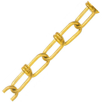 水本機械 黄銅ビクターチェーン(真鍮)線径2.0×内長28.0×内巾5.5mm 1巻30m価格 2.0-VBR