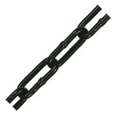 水本機械 アルミカラーチェーン(ブラック)線径8×内長38×内巾12mm 1巻30m価格 AL-8CBK