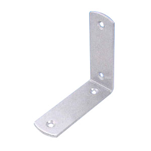 水本機械 ステンレス補強金具 コーナー金具(丸)タイプ1 30個価格 KLR-2535