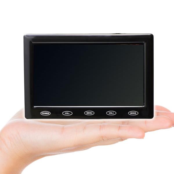 ITPROTECH 5型 マルチモニター 液晶モニター テレワーク 液晶ディスプレイ 5V給電 USBバスパワー対応 HDMI・VGA・AV入力対応 車載 バックモニター LCD5HVR-IPS