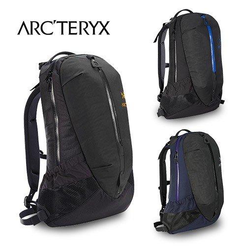 [ARC'TERYX] アークテリクス バックパック リュック Arro22 6029 アロー22 22L ブラック ブラックサファイヤ ブラックリゲル