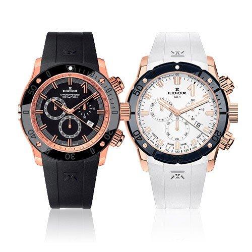[EDOX] エドックス 腕時計 CHRONOFFSHORE-1 CHRONOGRAPH クロノオフショア-1 クロノグラフ 10221-37R-NIR 10221-37RBU7-BIR7