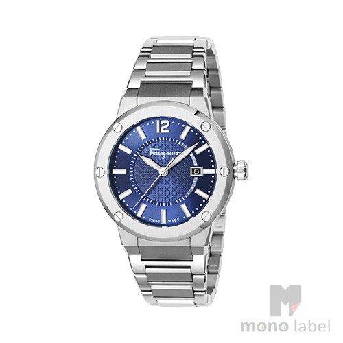 【並行輸入品】[SALVATORE FERRAGAMO] サルヴァトーレ フェラガモ 腕時計 メンズ FIF030015 ネイビー:腕時計通販 エリアオンライン
