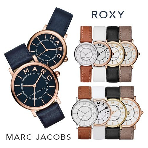 マークジェイコブス 時計 レディース 腕時計 ブラック ロキシー ビジネス 女性 MARC JACOBS MJ1537 ブランド プレゼント 仕事用 誕生日 お祝い クリスマスプレゼント ギフト お洒落 【並行輸入品】