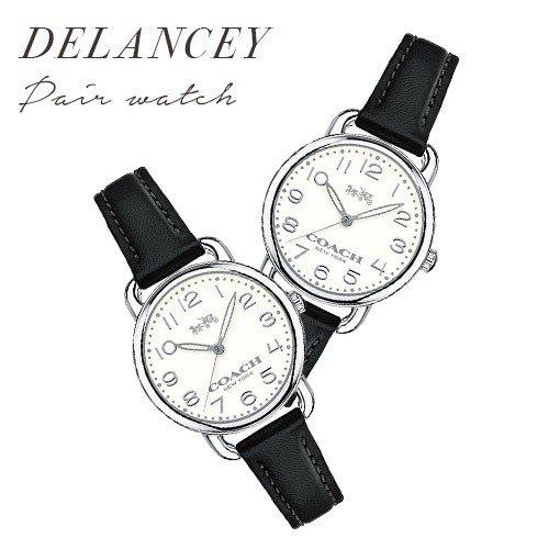 【並行輸入品】 コーチ COACH 腕時計 ペアウォッチ DELANCEY デランシー ブラック 14502267