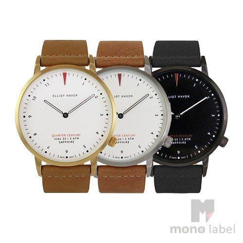 [Quarter Century Watch(QCW)] クオーターセンチュリーウォッチ メンズ 時計 レディース 腕時計 QCW WATCH GOLD STEEL BLACK【日本公式店舗】
