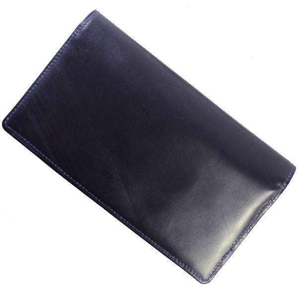 GLENROYAL グレンロイヤル 03-2474 NAVY(DARK BLUE) 長財布 ブライドル レザー メンズ【並行輸入品】
