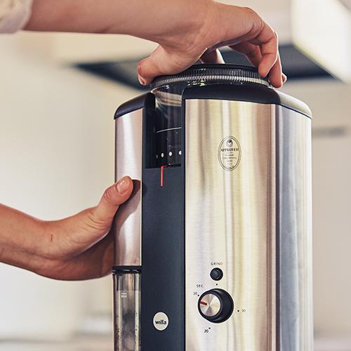 【Wilfa Svart Nymalt コーヒーグラインダー WSCG-2】ウィルファ スヴァート ニマルト コーヒー粉 コーヒーミル■ おまけ付き■ ラッピング無料