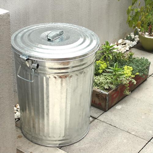 【松野屋 メタルペール缶 45型】ゴミ箱 ごみ箱 缶 トタン製 丈夫■ 送料無料■ ラッピング不可