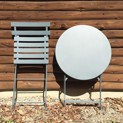 【Fermob社 ビストロシリーズ ラウンドテーブル】テーブル bistro 折りたたみ ガーデン カフェ■ 送料無料