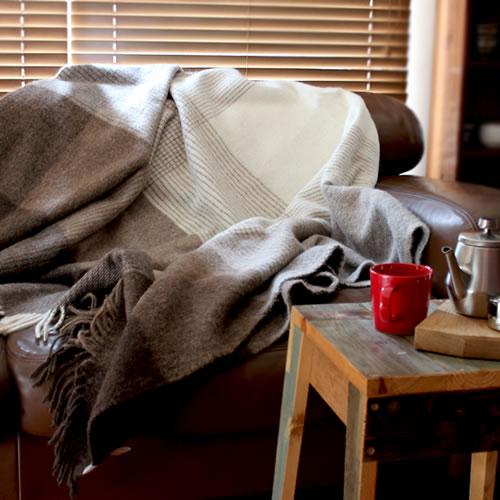 【silkeborg Julia シルケボー ブランケット 140×240】毛布 リトアニア ウール アルパカ■ 送料無料■ あす楽■ ラッピング無料