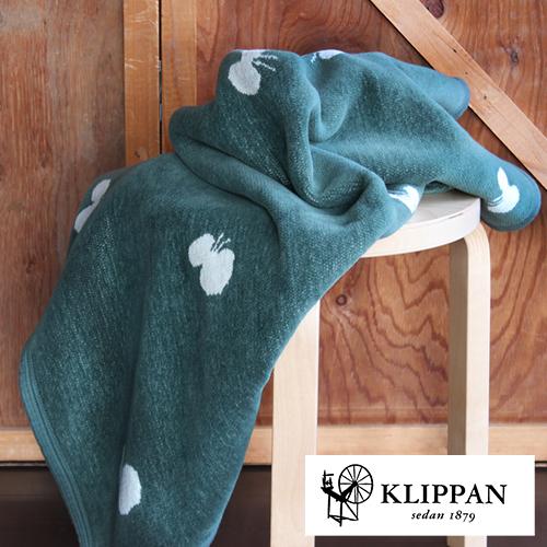 【KLIPPAN ハーフブランケット CHOUCHO 90x140cm】クリッパン 毛布 スウェーデン 北欧 ギフト■ ラッピング無料