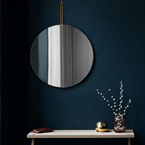 【MOEBE WALL MIRROR 50cm】北欧 ミラー 鏡 ムーベ 壁掛けミラー シンプル ギフト■ ラッピング無料