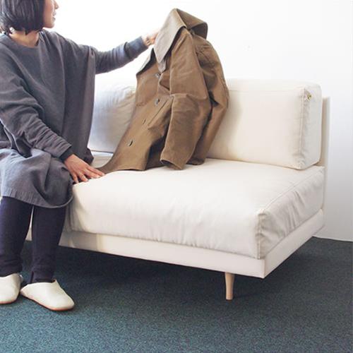 【送料無料】【開梱 設置 無料】【Dress a sofa】【Bread sofa ウレタン仕様 Oxford】【家具 ソファ クラスカ ドレス ブレッド 布張り ウレタン】【メーカー直送品】【1年保証付】