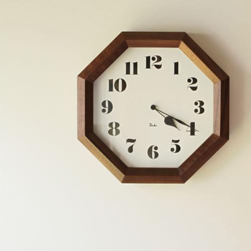 【RIKI CLOCK 八角時計】リキクロック 渡辺力 壁掛け時計 LEMNOS レムノス ギフト 敬老の日■ 送料無料■ ラッピング無料■ ポイント10倍