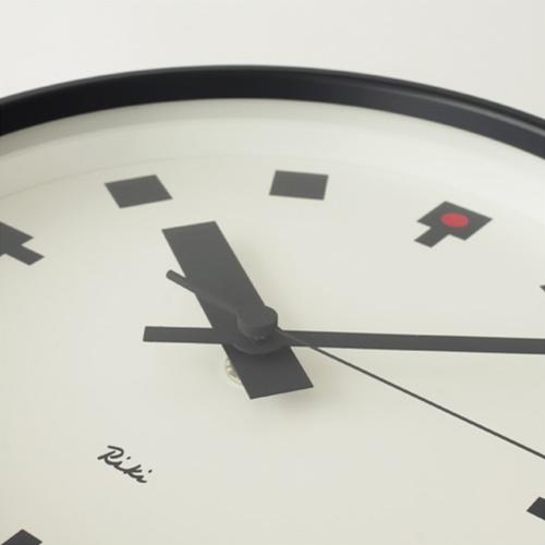 【RIKI 日比谷の時計 小 WR12-04】【リキクロック 渡辺力 LEMNOS レムノス 壁掛け時計 ギフト 敬老の日】
