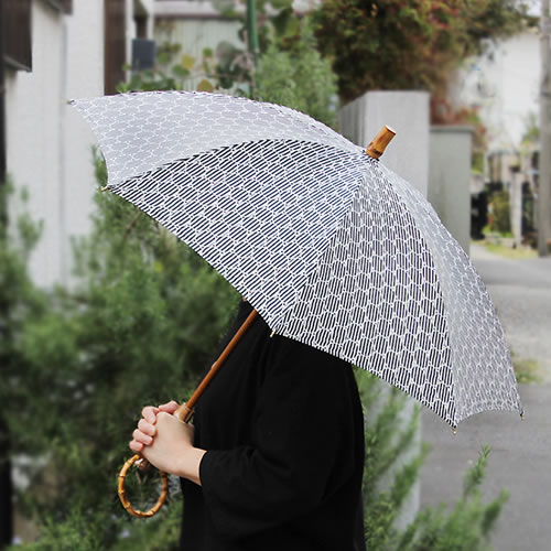 【SUR MER シルクプリント刺繍 長傘 / 折りたたみ傘】シュールメール ファッション 傘 かさ カサ 紫外線防止加工 花柄■ 送料無料■ あす楽