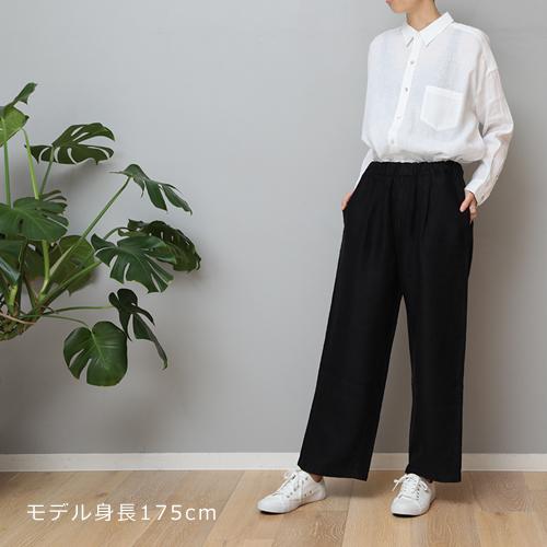 【LINEN TALES heath trousers Wideパンツ】ファッション パンツ リネンテイルズ■ ラッピング無料