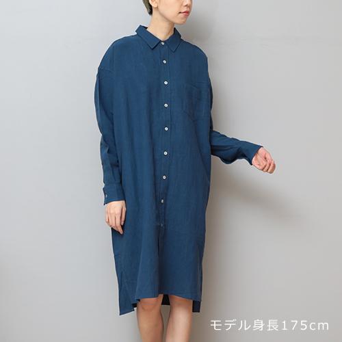 【LINEN TALES guelder rose dress BIGシャツOP】ファッション シャツ リネンテイルズ ユニセックス ■ ラッピング無料