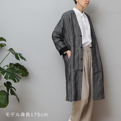 【LINEN TALES oak coat Noカラーコート】ファッション シャツ リネンテイルズ ユニセックス ■ ラッピング無料