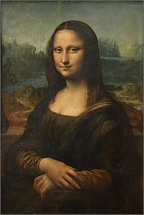 【送料無料】複製名画油絵 ダ・ヴィンチ作「モナ・リザ」額無し 絵画サイズ: 50x60 cm