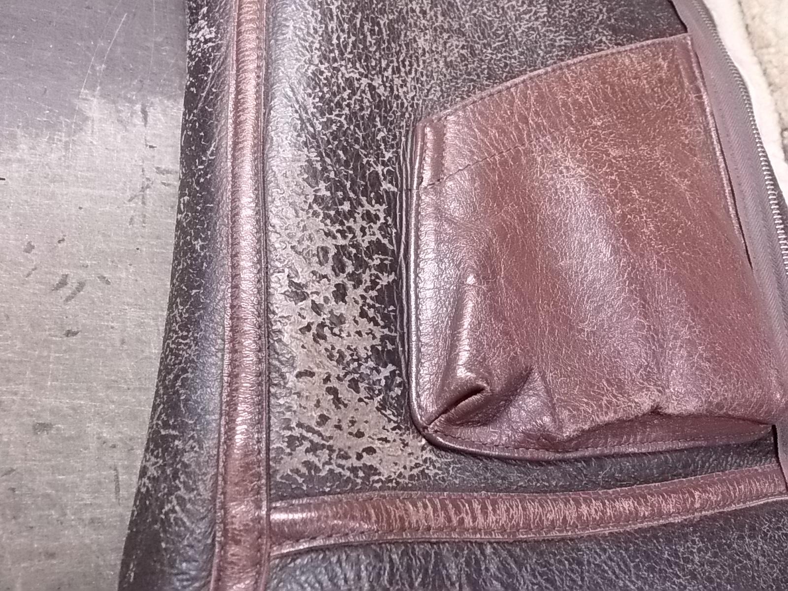 B3ジャケット劣化した塗装面を全塗装して相棒復活!!