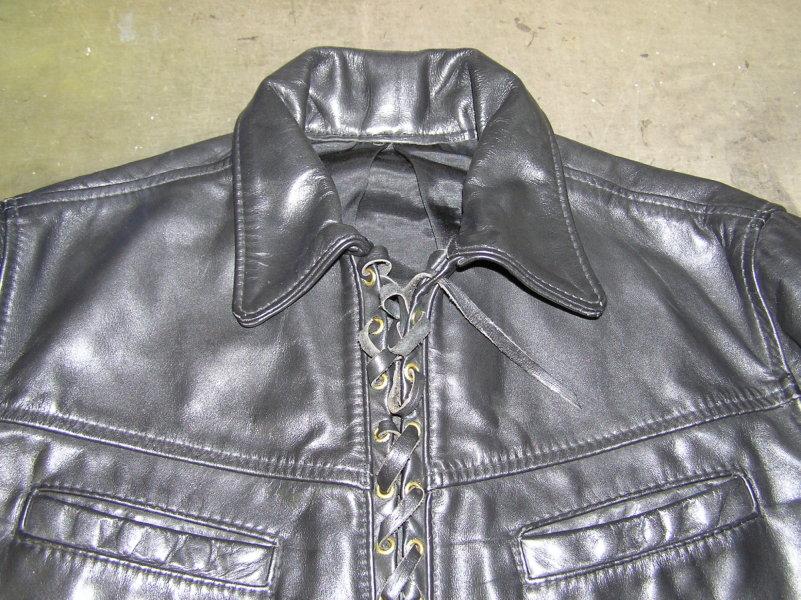 ラングリッツレザー(Langlitz leather)着やすく改造