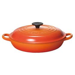 ルクルーゼ(ル・クルーゼ) ビュッフェ・キャセロール 2532 26cm オレンジ (LE CREUSET)