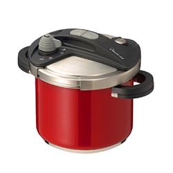 ワンダーシェフ(Wonder Chef) オースプラス(orth PLUS) 圧力鍋 5L レッド