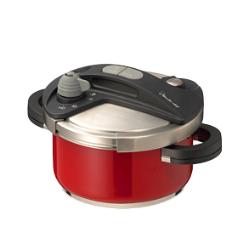 ワンダーシェフ(Wonder Chef) オースプラス(orth PLUS) 圧力鍋 3.5L レッド